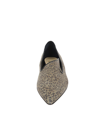 Womens Mini Leopard Glitter Max Pointed Toe Flat 4 Alternate View