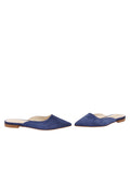 Womens Navy Suede Pecker 5