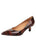 Womens Radish Patent Ilaria Pointed Toe Kitten Heel