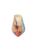 Womens Rainbow Fish Dorn Mule 4
