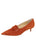 Womens Sienna Suede Brexit Pointed Toe Kitten Heel