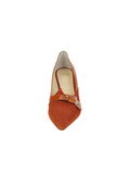 Womens Sienna Suede Emilia Pointed Toe Pump 4