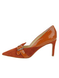 Womens Sienna Suede Emilia Pointed Toe Pump 7