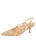 Womens Wheat Multi Sadetta Pointed Toe Slingback