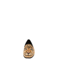 Womens Big Cat on Black Needlepoint Loafer 4