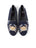 Womens Crab on Navy Needlepoint Loafer