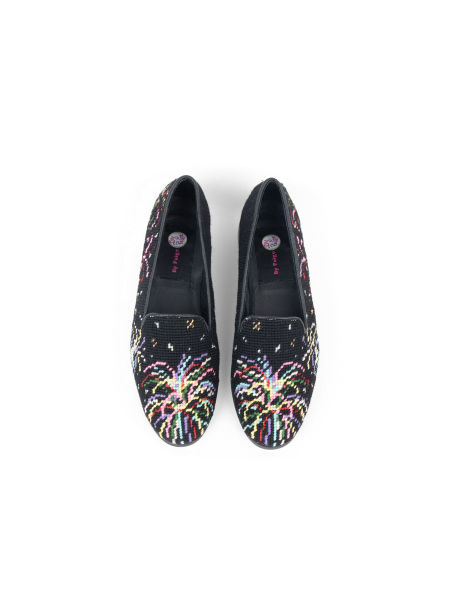 Womens Fireworks Needlepoint Loafer 7