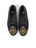 Womens Gold Scroll Needlepoint Loafer
