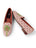 Womens Preppy Palm on Light Pink Needlepoint Loafer