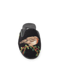 Womens Robin Black Needlepoint Mule 6