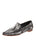 Womens Brushed Silver Kellie Pointed Toe Flat