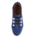 Womens Navy Satin Val 5