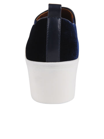 Womens Navy Velvet Vivian 4 Alternate View