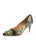 Womens Yellow Gloss Francine Pump