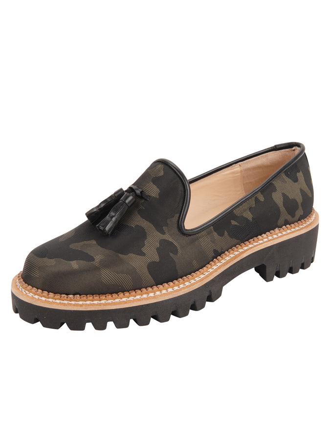 Womens Camuflaje Lug Shoe