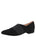 Womens Black Suede Aynsley Slip On Loafer