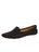 Womens Black Suede Barrie Driving Moccasin