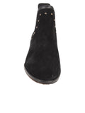 Womens Black Austin Studded Bootie 4