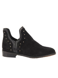 Womens Black Austin Studded Bootie 6