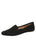 Womens Black Barrie DRIVING MOCCASIN