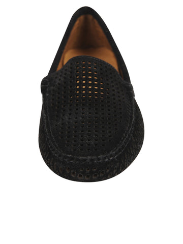 Womens Black Barrie DRIVING MOCCASIN 4 Alternate View