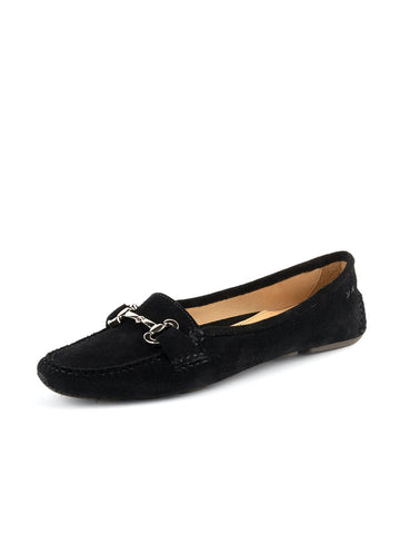 Womens Black Carrie Driving Moccasin