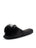 Womens Black Cathy Satin Slipper