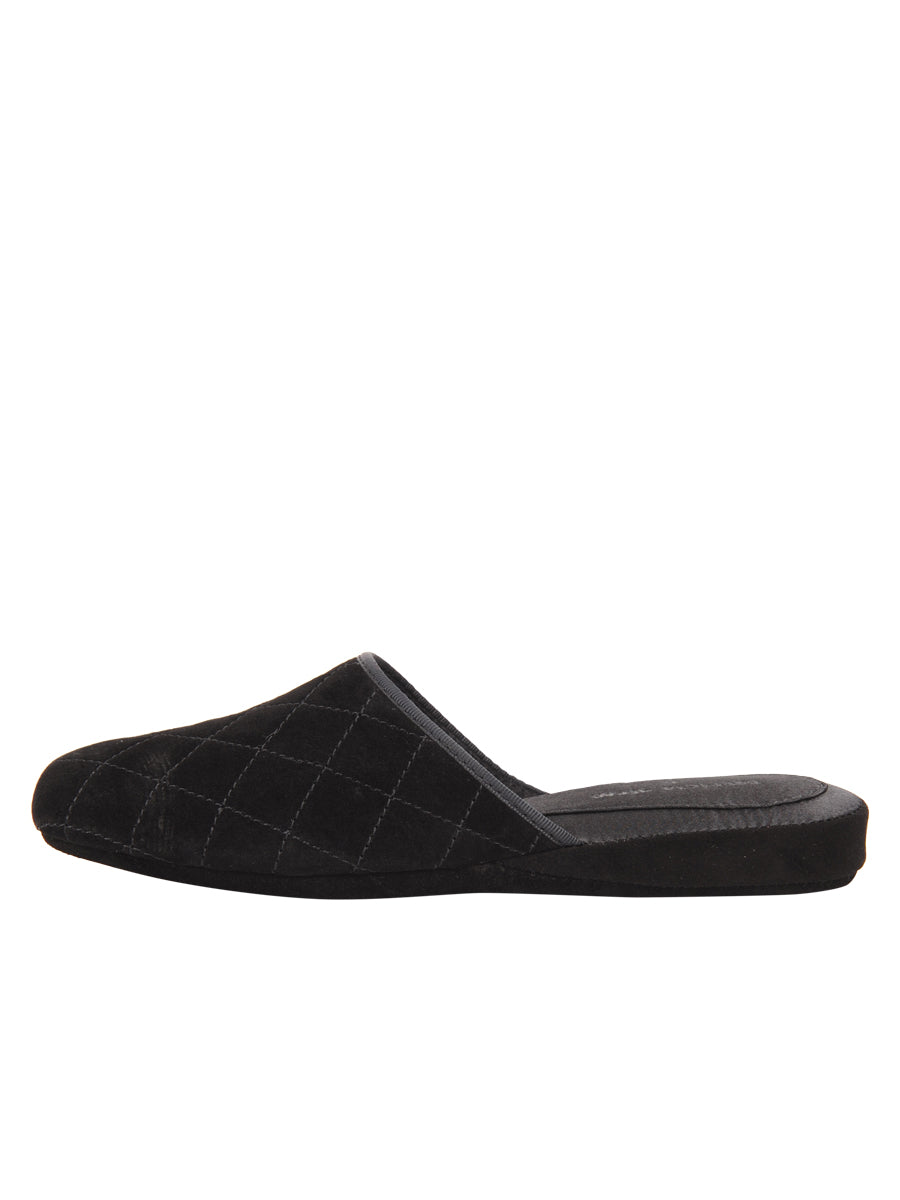 Womens Black Coco Slipper 6