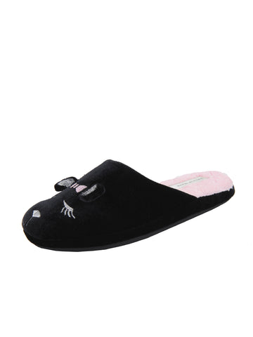 Womens Black Little Mouse