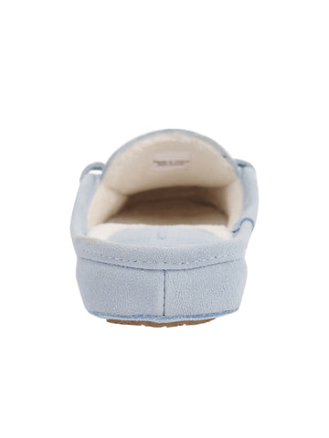 Womens Blue Greenwich Suede Slipper 4 Alternate View