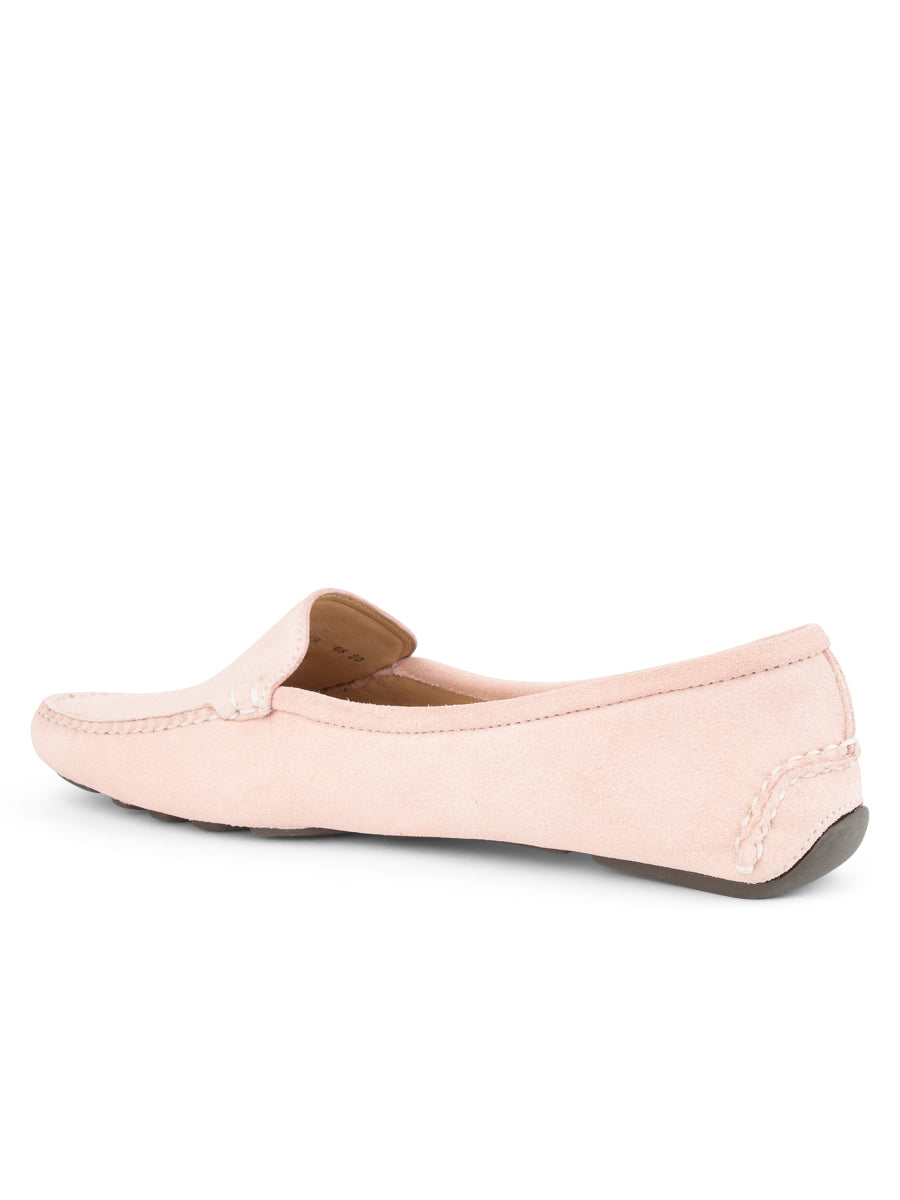 Womens Blush Jillian Driving Moccasin 2
