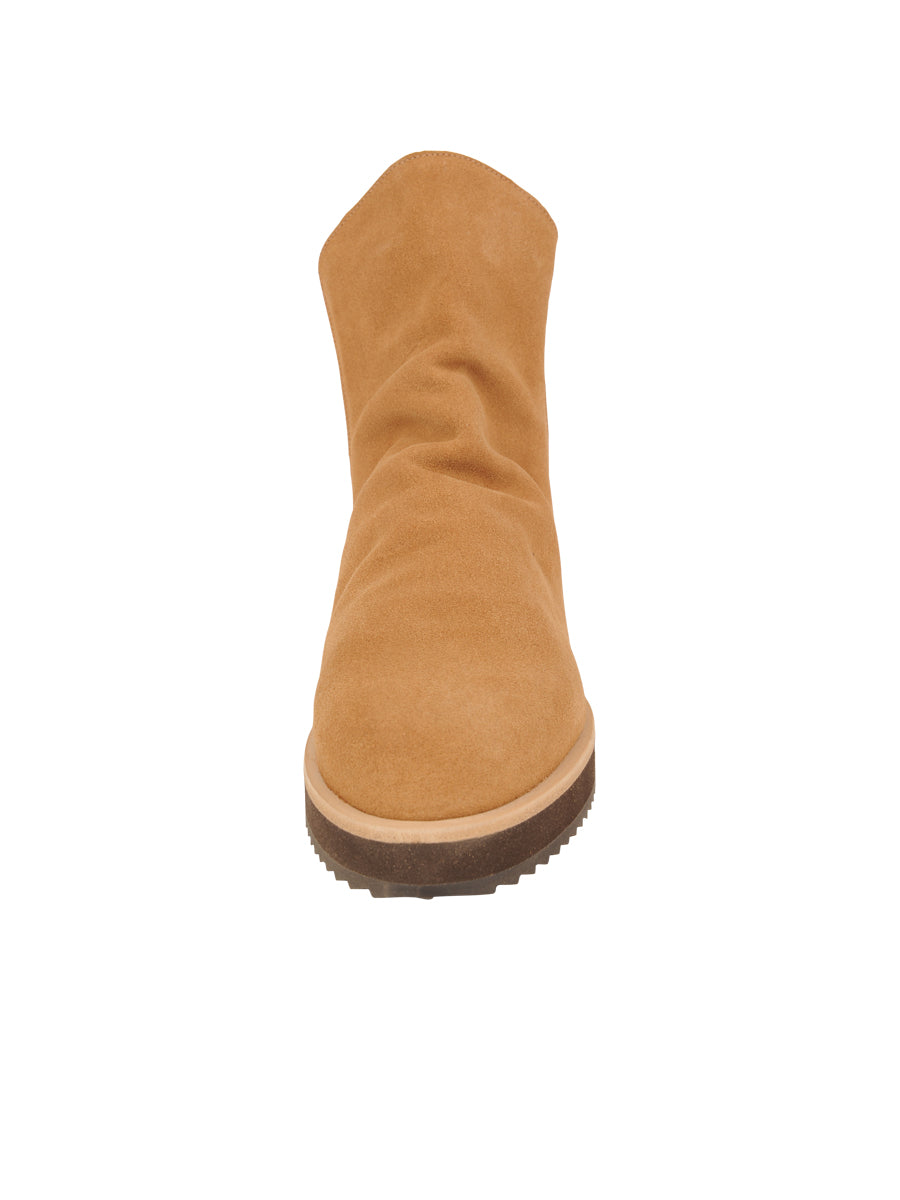 Womens Camel Suede Charlee Sport Bootie 4