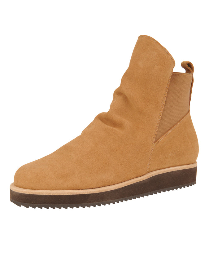 Womens Camel Suede Charlee Sport Bootie