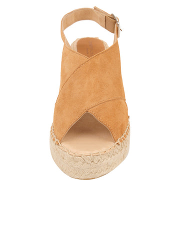 Womens Camel Madeline Espadrille 4 Alternate View