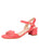 Womens Coral Gina Block Heeled Sandal