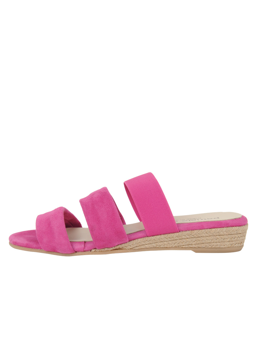 Womens Fuschia Joanna Wedge Sandal 6