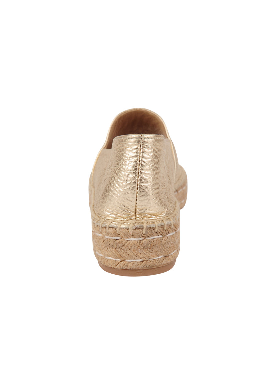 Womens Gold Angie Espadrille 2