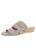 Womens Grey Josee Wedge Sandal