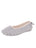 Womens Grey Jane Faux Fur Slipper