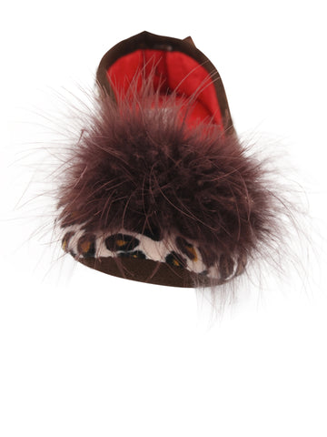 Womens Leopard Lola Slipper 4 Alternate View