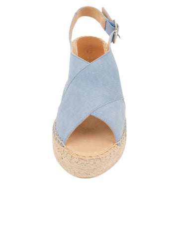 Womens Light Blue Madeline Espadrille 4 Alternate View