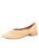 Womens Natural Capri Pointed Toe Raffia Flat