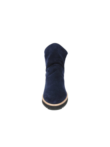 Womens Navy Suede Charlee Sport Bootie 4 Alternate View
