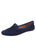 Womens Navy Suede Barrie Driving Moccasin