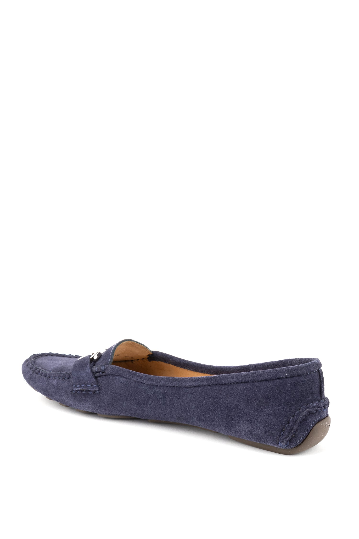 Womens Navy Carrie Driving Moccasin 2