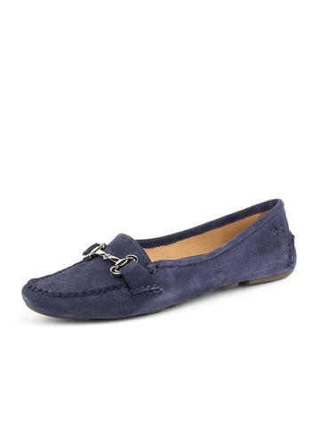 Womens Navy Carrie Driving Moccasin