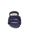 Womens Navy Joanna Wedge Sandal 4