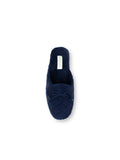 Womens Navy Chloe Microterry Slipper 7