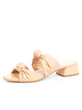 Womens Nude Leather Bobbie Beaux Sandal