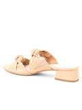 Womens Nude Leather Bobbie Beaux Sandal 2